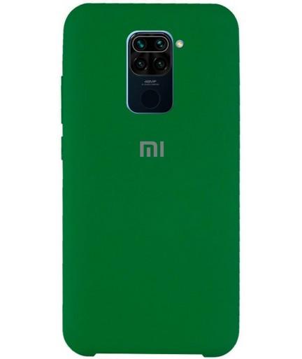 Силиконовая накладка Silky soft touch Xiaomi Redmi Note 9 (Зеленая) купить в Уфе | Обзор | Отзывы | Характеристики | Сравнение