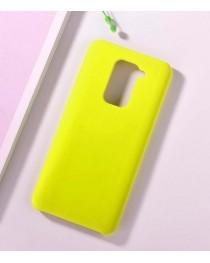 Силиконовая накладка Silky soft touch Xiaomi Redmi Note 9 (Желтая) купить в Уфе | Обзор | Отзывы | Характеристики | Сравнение