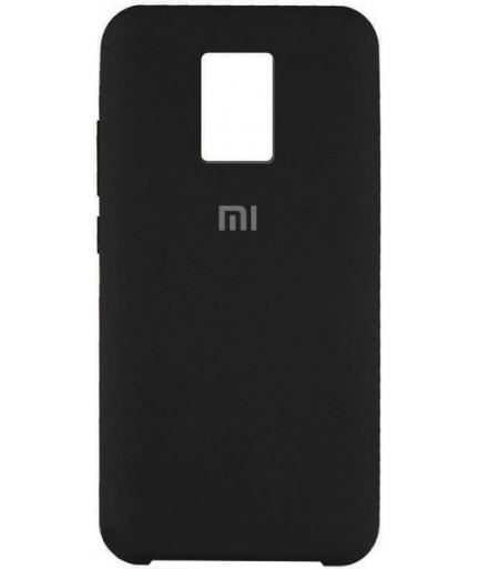 Силиконовая накладка Silky soft touch Redmi Note 9S/9 Pro (Черная) купить в Уфе | Обзор | Отзывы | Характеристики | Сравнение