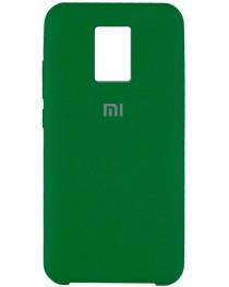 Силиконовая накладка Silky soft touch Redmi Note 9S/9 Pro (Зеленая) купить в Уфе | Обзор | Отзывы | Характеристики | Сравнение