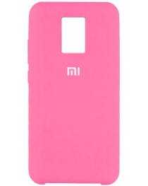 Силиконовая накладка Silky soft touch Redmi Note 9S/9 Pro (Розовая) купить в Уфе | Обзор | Отзывы | Характеристики | Сравнение