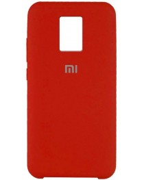 Силиконовая накладка Silky soft touch Redmi Note 9S/9 Pro (Красная) купить в Уфе | Обзор | Отзывы | Характеристики | Сравнение