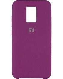 Силиконовая накладка Silky soft touch Redmi Note 9S/9 Pro (Сиреневая) купить в Уфе | Обзор | Отзывы | Характеристики | Сравнение