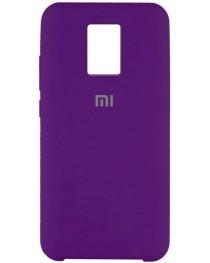 Силиконовая накладка Silky soft touch Redmi Note 9S/9 Pro (Фиолетовая) купить в Уфе | Обзор | Отзывы | Характеристики | Сравнение