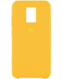 Силиконовая накладка Silky soft touch Redmi Note 9S/9 Pro (Желтая) купить в Уфе | Обзор | Отзывы | Характеристики | Сравнение