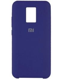 Силиконовая накладка Silky soft touch Redmi Note 9S/9 Pro (Темно-синяя) купить в Уфе | Обзор | Отзывы | Характеристики | Сравнение