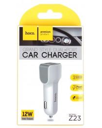 Автомобильный адаптер Hoco Z23 на 2 USB купить в Уфе | Обзор | Отзывы | Характеристики | Сравнение