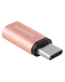 Переходник Sharp Micro to Type-C (Розовое золото) купить в Уфе | Обзор | Отзывы | Характеристики | Сравнение