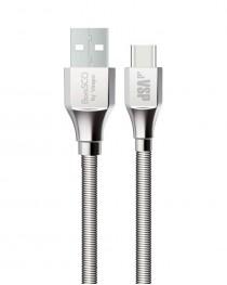 Дата-кабель Type-C - USB 1М BoraSCO (Металлическая оплетка) купить в Уфе | Обзор | Отзывы | Характеристики | Сравнение
