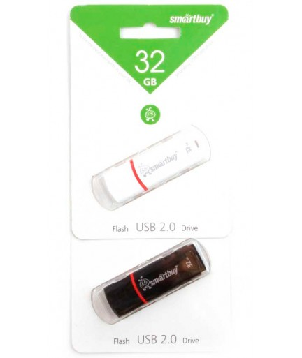 Флеш-накопитель 32 Gb Smartbuy Белый купить в Уфе   Обзор   Отзывы   Характеристики   Сравнение