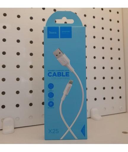 USB-Lightning HOCO X25 Белый купить в Уфе | Обзор | Отзывы | Характеристики | Сравнение