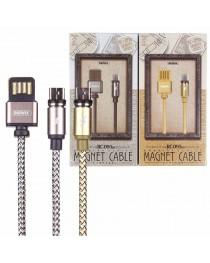 USB дата кабель Remax Gravity series Micro-USB 1M (серый) купить в Уфе | Обзор | Отзывы | Характеристики | Сравнение