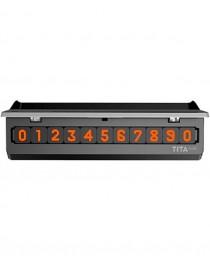 Временная карта парковки Xiaomi Bcase TITA mini Silver купить в Уфе | Обзор | Отзывы | Характеристики | Сравнение