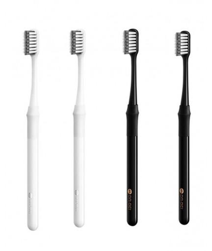 Набор зубных щеток Xiaomi Doctor Bei Black and White купить в Уфе   Обзор   Отзывы   Характеристики   Сравнение