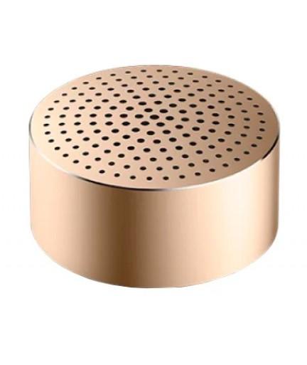 Портативная колонка Xiaomi Bluetooth Mi Portable Round Box Gold купить в Уфе | Обзор | Отзывы | Характеристики | Сравнение