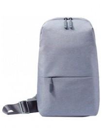 Рюкзак Xiaomi Mi City Sling Bag (Light Gray) купить в Уфе | Обзор | Отзывы | Характеристики | Сравнение